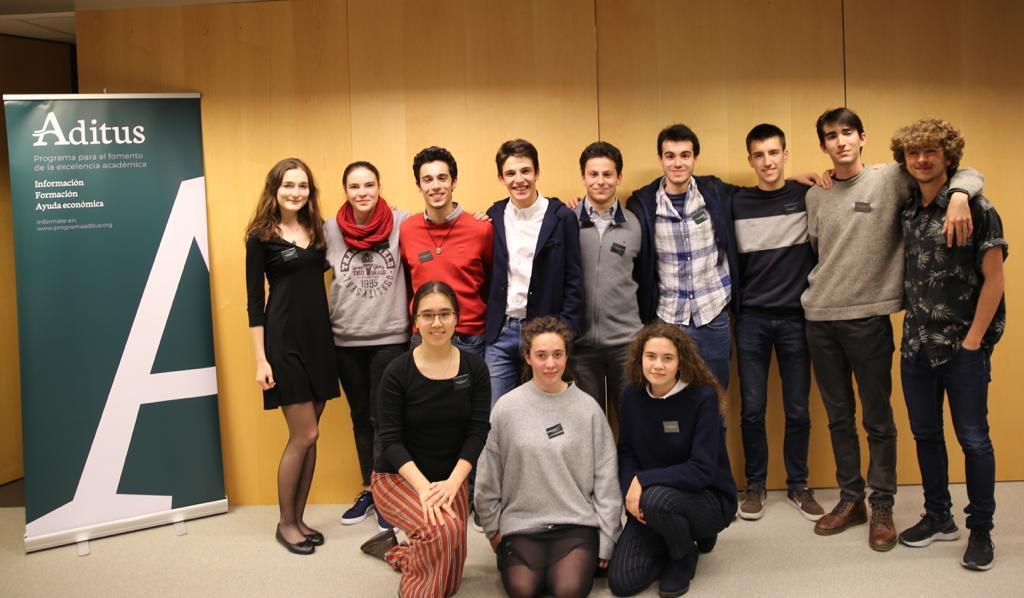 La segunda promoción, con 12 estudiantes.